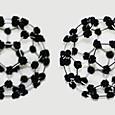 フラーレンC60分子模型