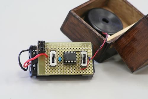 電子オルゴール 基板