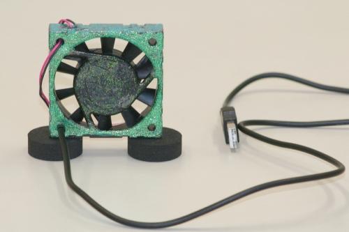 USBファン(自作)